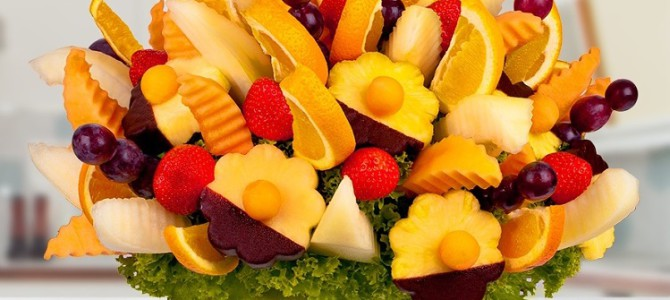 Ovocné kytice a vše o nich