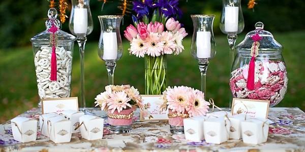 Svatební dárky a dekorace