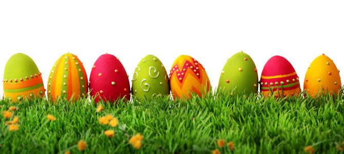 Velikonoční pomlázka z ovoce a čokolády