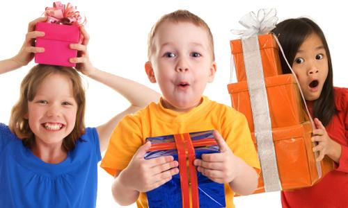 Zdravý dárek ke dni dětí