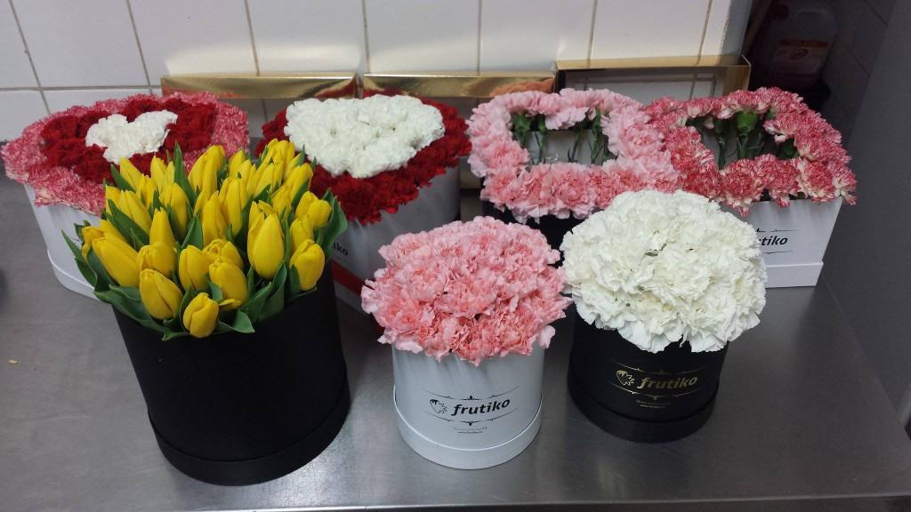 Krabice květin Frutiko